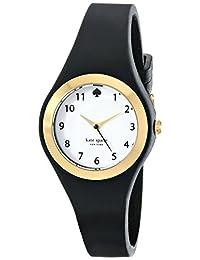 Kate Spade New York Women's 1YRU0642 Rumsey Analog Display Japanese Quartz Black Watch