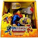 : DC Super Friends Delxue Figure Superman Space Crane