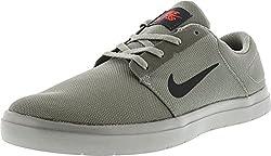 Nike Men's Sb Portmore Ultralight Dustanthracite - Ember Glow Ankle-high Skateboarding Shoe 13m