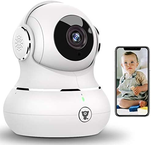 [2021 Upgraded] Indoor Wireless Security Camera,Littlelf Smart 1080P Home WiFi IP Camera for Pet/Baby Monitor with Motion Detection/Tracking, 2-Way Audio, Night Vision and Cloud Storage
