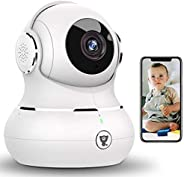 Indoor Security Camera, Littlelf 1080P Baby Pet Wireless WiFi IP Camera for Dog/Elder Monitor with Motion Dete