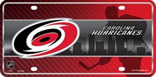NHL Carolina Hurricanes Metal License Plate Tag
