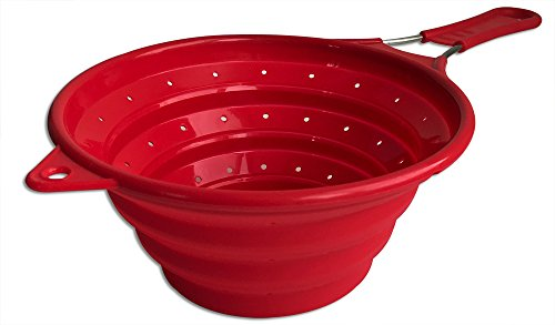 Chef Basics Collapsible Colander Stainless
