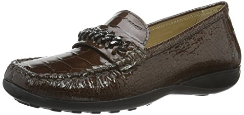 Moccasins for women, colour Brown , brand GEOX, model Moccasins For Women GEOX D WINTER EURO2 Brown Taupe