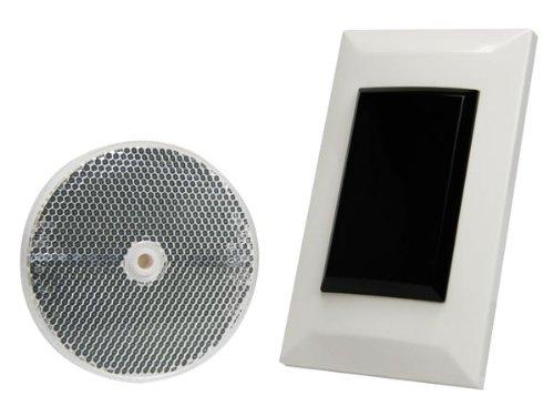 Velleman PEM7DBI Flush Mount Retro Reflection Photoelectric Beam Sensor, Multi-Colour, 7 m