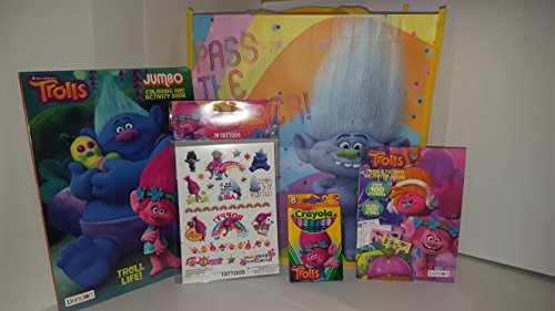 dreamworks-trolls-ultimate-gift-bundle-tote-bag-jumbo-coloring-activity-book-8-pack-of-crayonscolorf