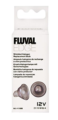 Fluval EDGE Shielded Halogen Replacement Bulb, 10 Watts - -