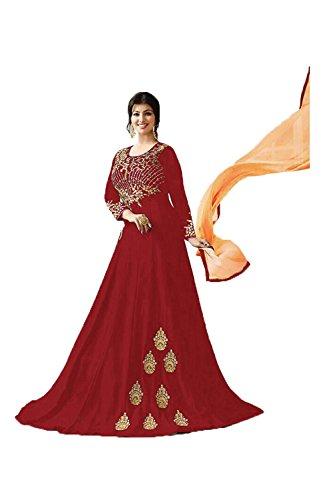 Progettista Kameez Traditonal Etnica Marrone Partywear Facioun Etnica Salwar Da Indiane Donne TtwPxqwfA
