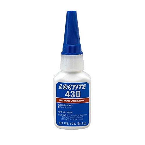 430 Super Bonder General Purpose Instant Adhesive, Metal Bonder, 1 oz. Bottle
