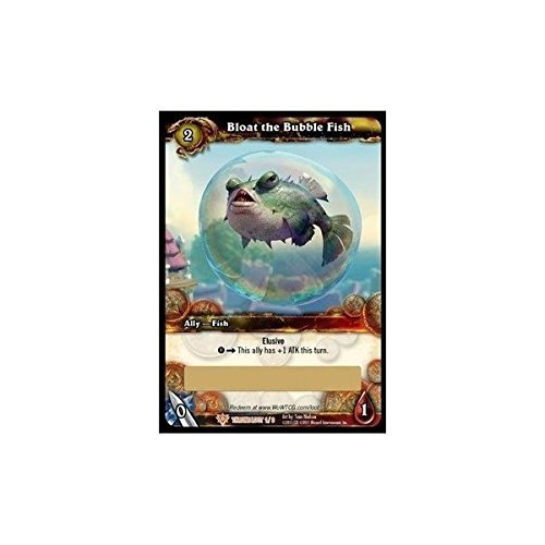 1 X Bloat the Bubble Fish - Loot Card - Unscratched - Unscratched WoW Loot Cards