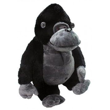 Gorila gigante de peluche 160cm. Negro o blanco, hecho en España