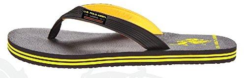 Us Polo Assn. Mens Premium Sandaler Solsken Flip Flops Vatten Vänliga Extra Plysch