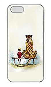 The Young And The Tiger Customized Popular DIY Hard Back Case Cover For iPhone 5 5S Hard Transparent by supermalls