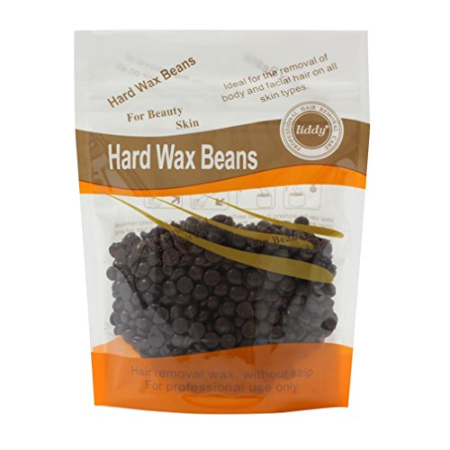 Leoy88 Hard Wax Beans 100g, Natural Wax Beans Depilatory Wax Bikini Hair, Body, Legs,Underarms Removal Suitable for all kinds of skin. (Chocalate)