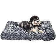 AmazonBasics Pet Dog Bed Pad - 29 x 21 x 3 Inch, Grey Swirl