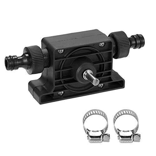 YESIAM 8mm Gambo Rotondo Pompa dellAcqua Pompa elettrica Portatile per Trapano Autoadescante Pompe di trasferimento Pompa Acqua Fluido Olio