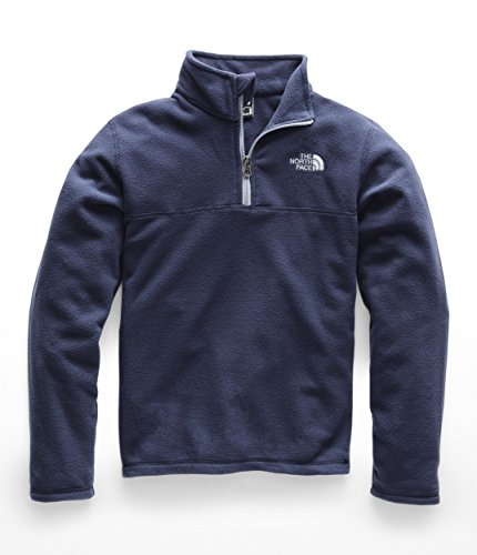The North Face Boy's Glacier Quarter Zip - Cosmic Blue - L