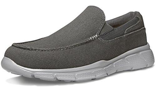 Tesla TF-RX400-HEG_Men 9 D(M) Men's Slip-on Loafer Performance Sport Active Fashion Cushion Sneaker RX400