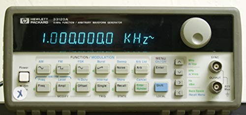 Packard Hewlett Function Generator - Agilent HP 33120A function/arbitirary waveform generator [Misc.] (Certified Refurbished)