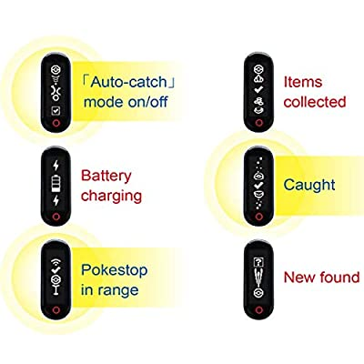 Brook Pocket Auto Catch - Auto catch compatible for Pokemon Go plus, Catching Pokemon and collecting items just got easy, (FOR Android version)