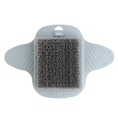 - Bath Massager Brush Scrubber Feet Washer Foot Cleaner Exfoliating Tool (Color - gray)