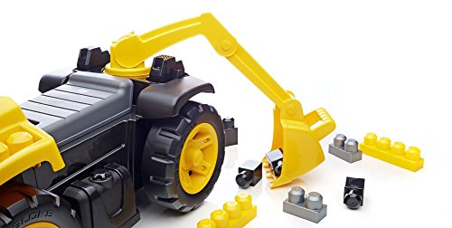 41gTgrgBeKL - Mega Bloks Ride On Caterpillar with Excavator