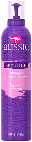 Aussie Sprunch Mousse 24 Hour Curl Lock, Flexible Hold 6.80 oz