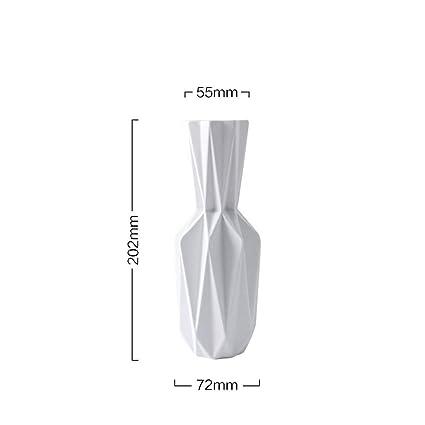 Amazon Kktool The Origami Vases Ceramic Tabletop Big Vase Home