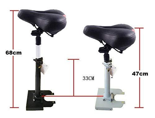 Theoutlettablet® Sillín/Asiento Plegable y Ajustable diseñado para Patinete eléctrico Xiaomi Mijia M365 - Versión 1.0