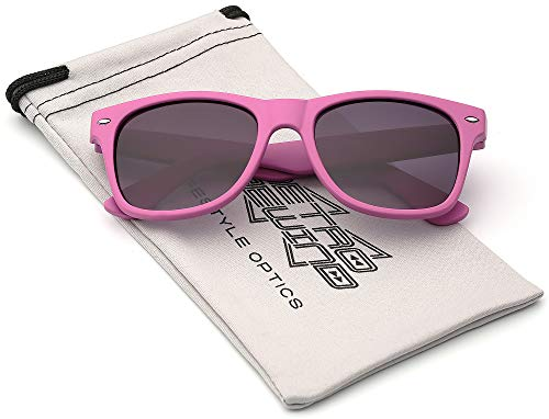 15788f72fa Kids Comfortable Classic Sunglasses for Boys and Girls