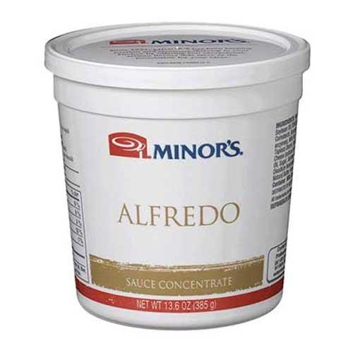 Nestle Minors Alfredo Sauce Concentrate, 13.6 Ounce -- 6 per case.