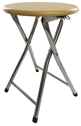 Wee's Beyond 1210-BC Folding Wooden (Wooden Folding Stool)