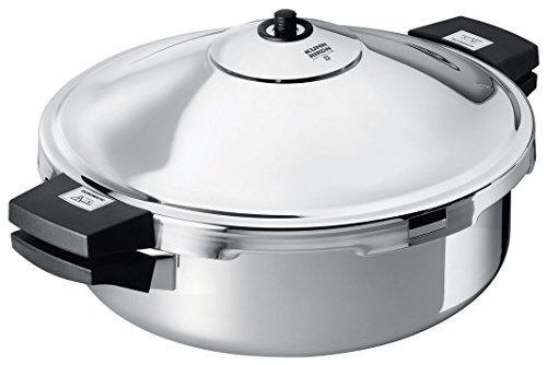 Kuhn Rikon Duromatic Hotel Stainless Steel Frying Pan, 5 Litre / 28 cm by Kuhn Rikon