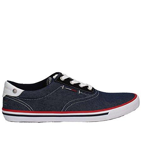 Sneakers Fm0fm01108 Man Bleu Hilfiger Tommy qnSY0HwEY