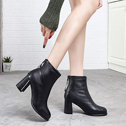 Fashion Talons Bottes Pointues Pour A Hauts Femmes D'hiver wnnfgxqY1