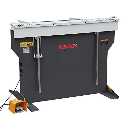 KAKA Industrial EB-4816B Manual Magnetic Sheet Metal Box and Pan Brake, 1-Phase 220V ()