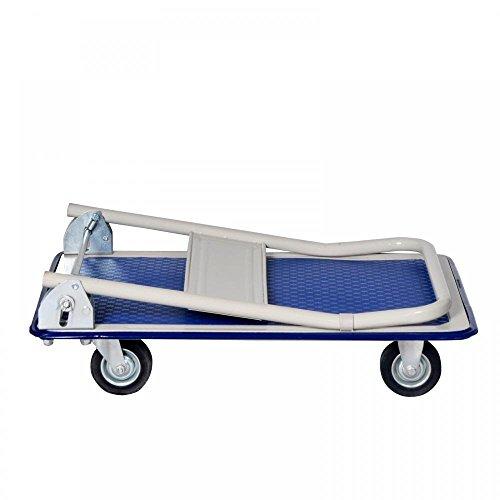 New Platform Cart Dolly Folding Foldable Moving Warehouse Push Hand Truck by BestOffice (Image #2)