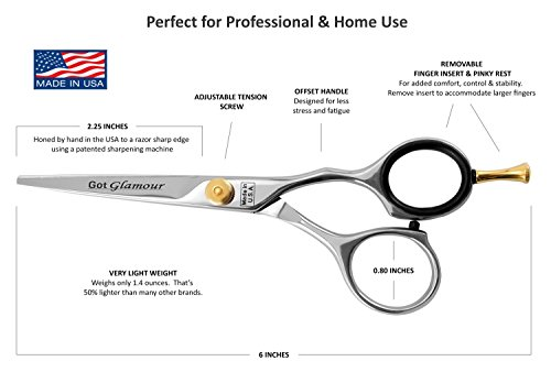 Got-Glamour-Cobalt-Molybdenum-Right-Handed-Hair-Cutting-Scissors
