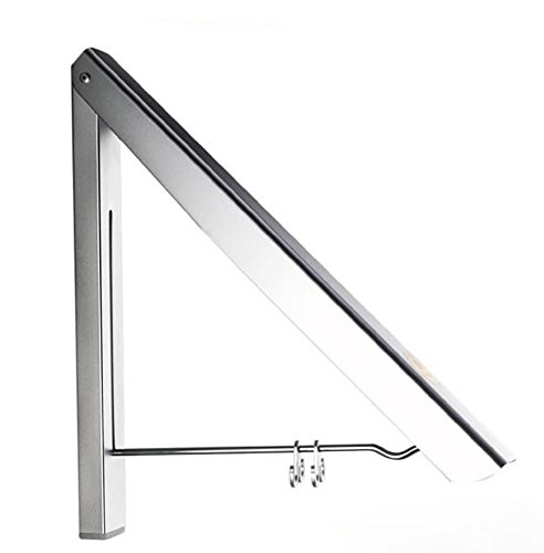 SHANGXIAN Clothes Rack Foldable Wall Mount Clothes Hanger Sp