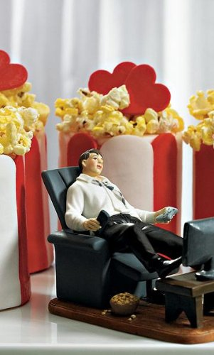 Weddingstar Couch Potato Groom Figurine