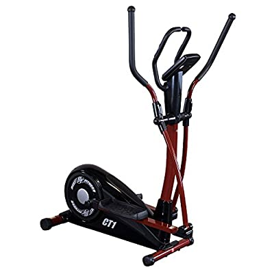Body Solid BFCT1 Best Fitness Elliptical Trainer with Center Drive Design and Natural Motion Up to 8 Levels of
