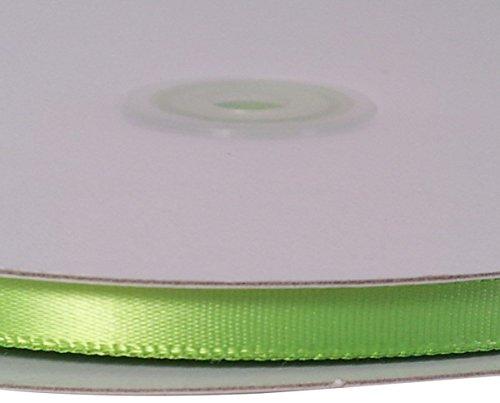 Firefly Imports Homeford Single Face Satin Ribbon, 1/4-Inch/100-Yard, Apple Green