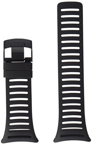 Suunto Core Accessory Strap Light Elastomer All Black, One Size (Elastomer Strap)