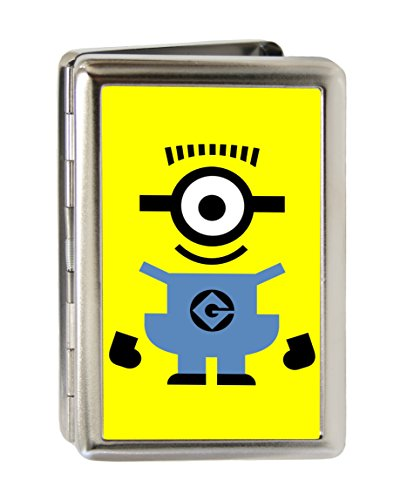 Despicable Me - Cute Standing Minion - Metal Multi-Use Wallet Business Card Holder