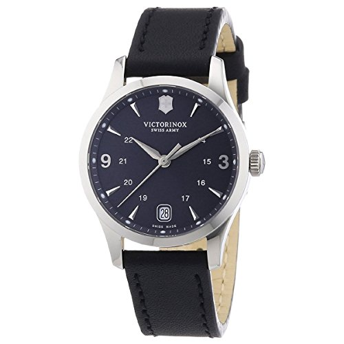 Victorinox Swiss Army Alliance Black Dial SS Quartz Ladies Watch 241542