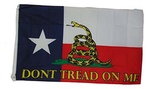 Texas State Gadsden Dont Tread on Me Rebel Flag 3x5 3 X 5 Fe