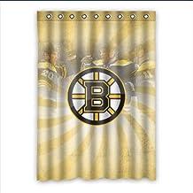"VIASHOW Custom Personalized Boston Bruins Blackout Window Curtains/drape/panels/treatment 52""x72""(one piece)"