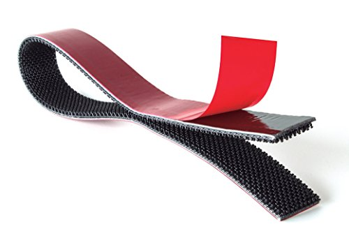 (Velcro Brand ALFA-LOK Reclosable Fastener, Black, 1