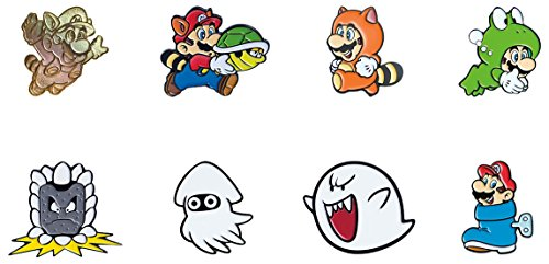 - PowerA Super Mario Bros. 3 Collector Pins - One Randomly Selected Pin