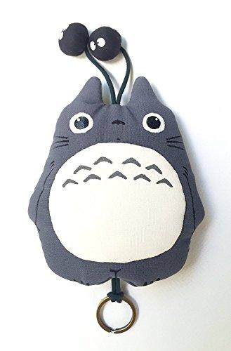 TOTORO Key Cover Studio Ghibli fabric keychain gray 1
